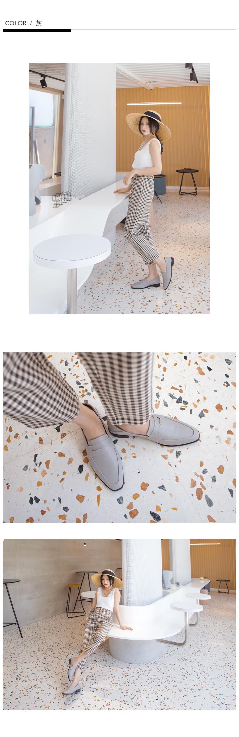 訂製款-2way後踩皮革紳士鞋-大尺碼