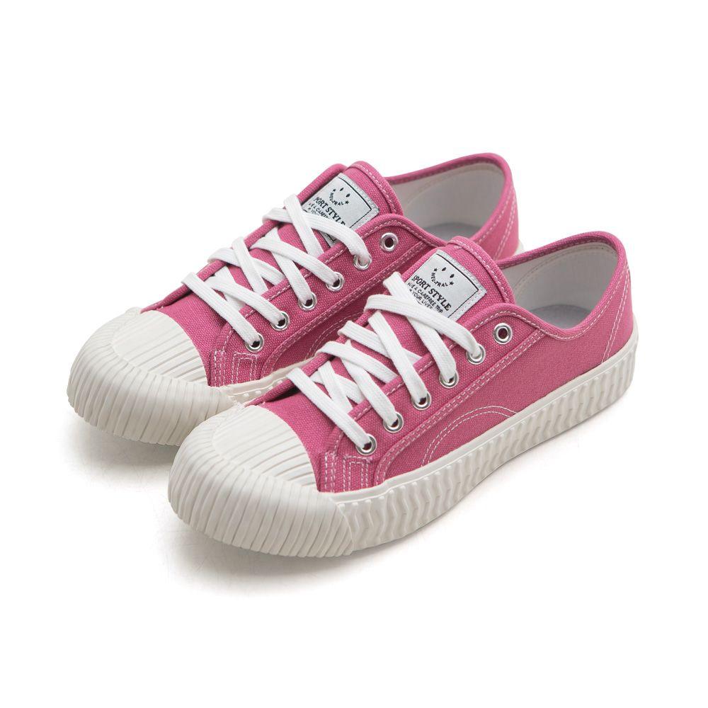 NeuTral-透氣防潑水綁帶餅乾鞋-粉桃,休閒鞋,包鞋,平底鞋,帆布鞋,繫帶