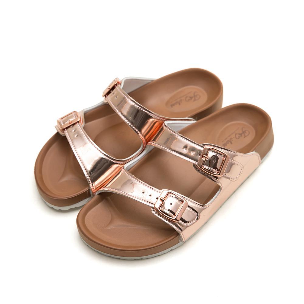 訂製款- 美肌補光減壓休閒拖鞋-金,經典,超軟,腳床設計,人體工學,防滑