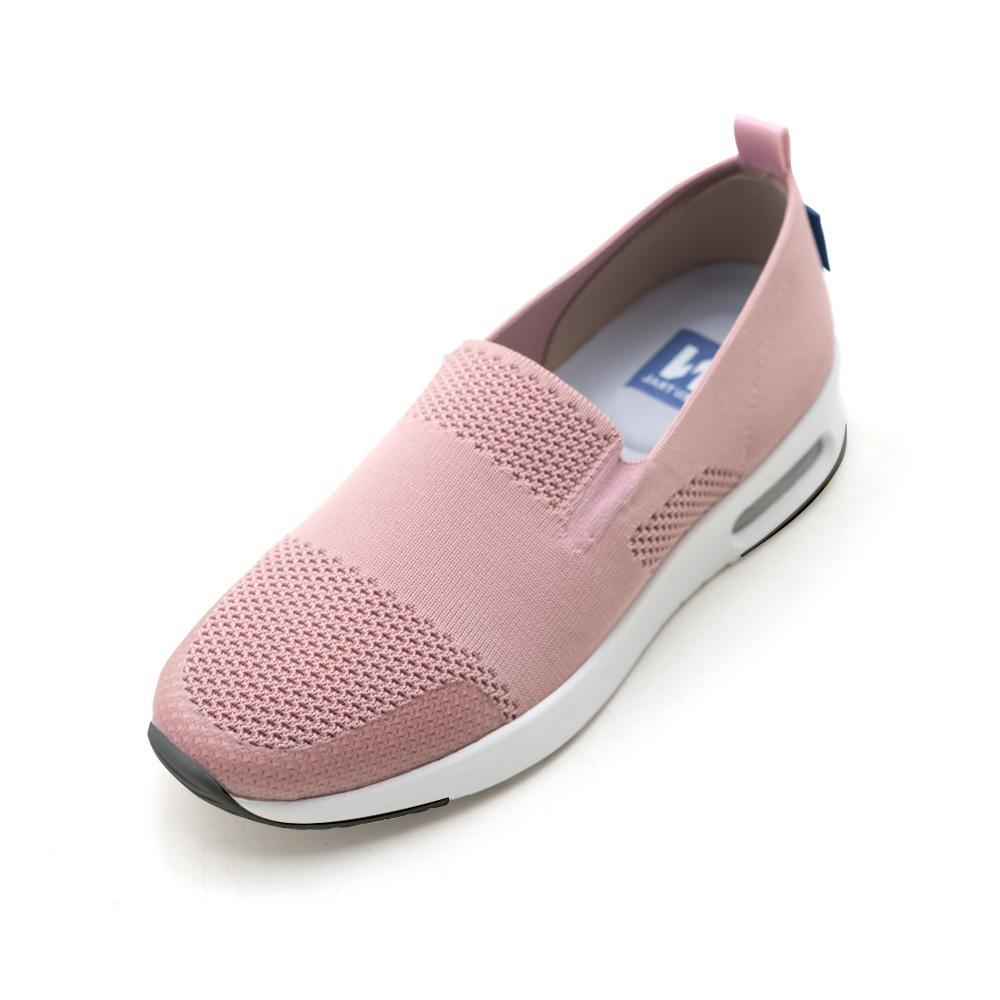 NeuTral-冰絲涼感輕量氣墊鞋-粉,懶人鞋,透氣,彈性,超軟,降溫