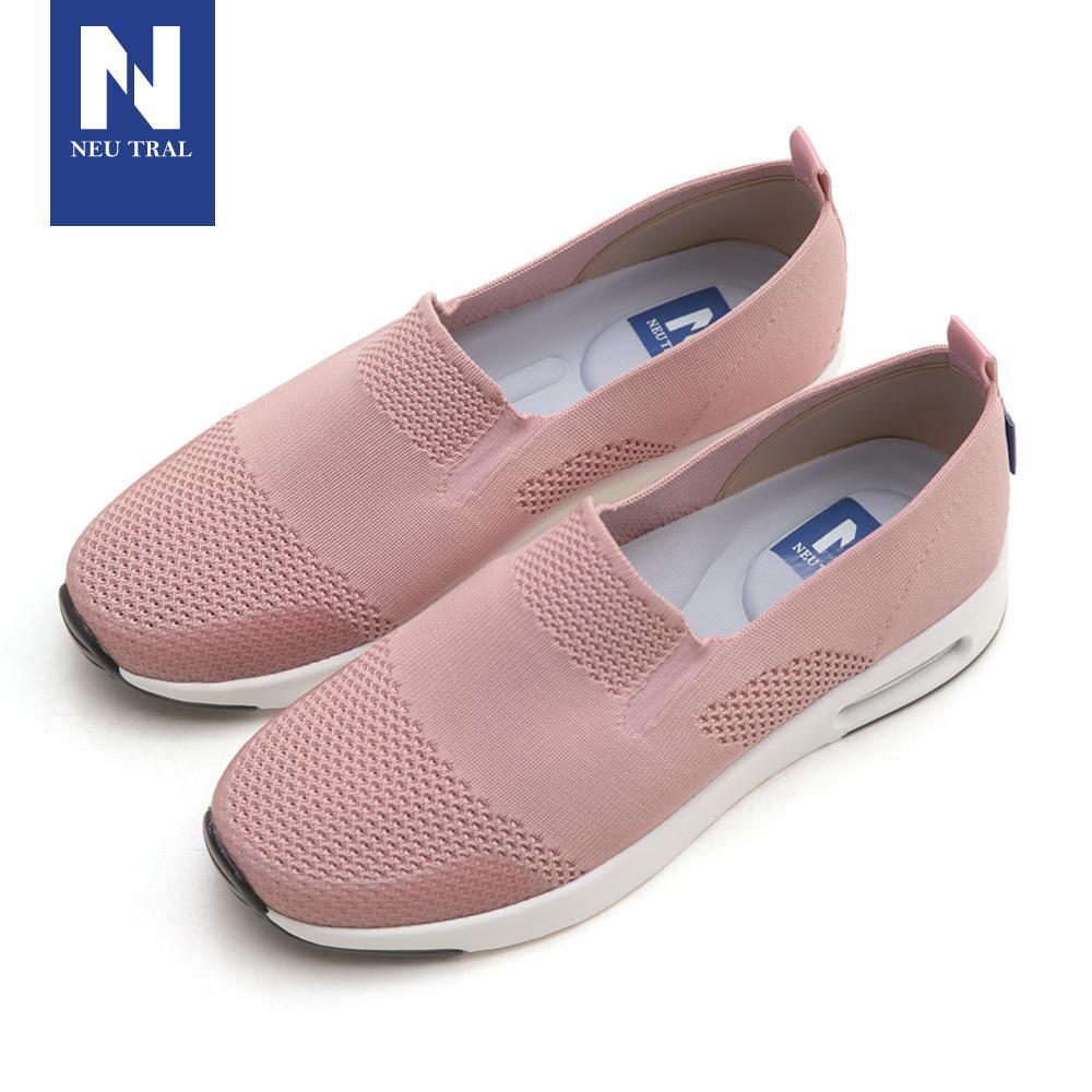 NeuTral-冰絲涼感輕量氣墊鞋-粉