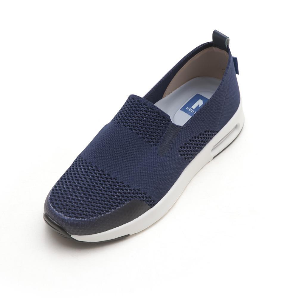 NeuTral-冰絲涼感輕量氣墊鞋-深藍,氣墊鞋,健走鞋,慢跑鞋,懶人鞋,休閒鞋