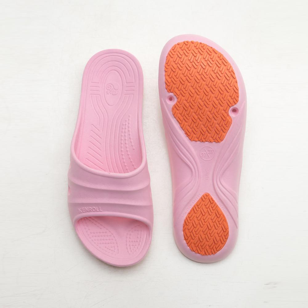 專業浴室防水防油拖鞋(粉)-WOMEN,防水,防滑,室內拖,廚師鞋,