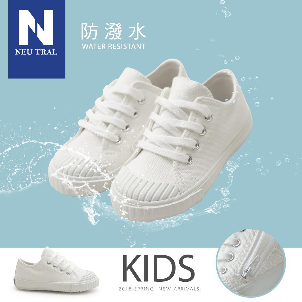 NeuTral-防潑水餅乾鞋(白)-KID