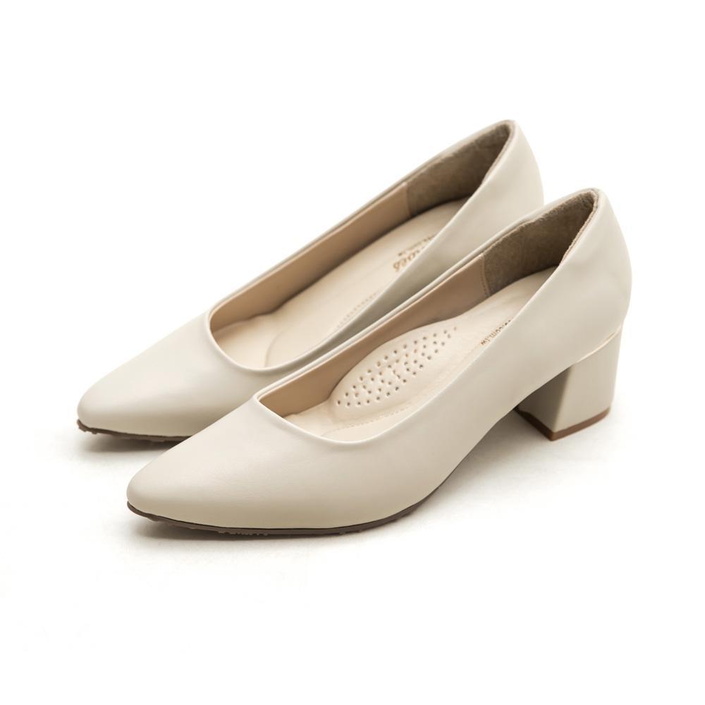 訂製款-莫蘭迪防水高跟鞋,包鞋,腳心墊,,粗跟,靜音鞋跟