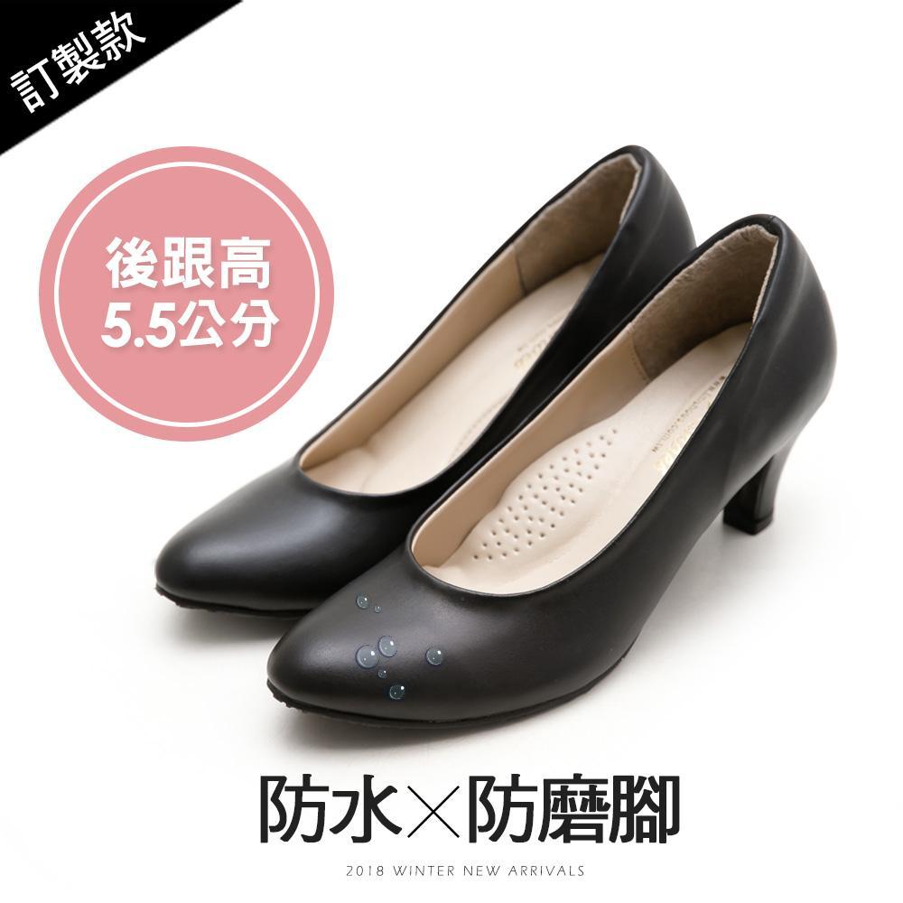 訂製款-防磨腳防水高跟鞋-大尺碼