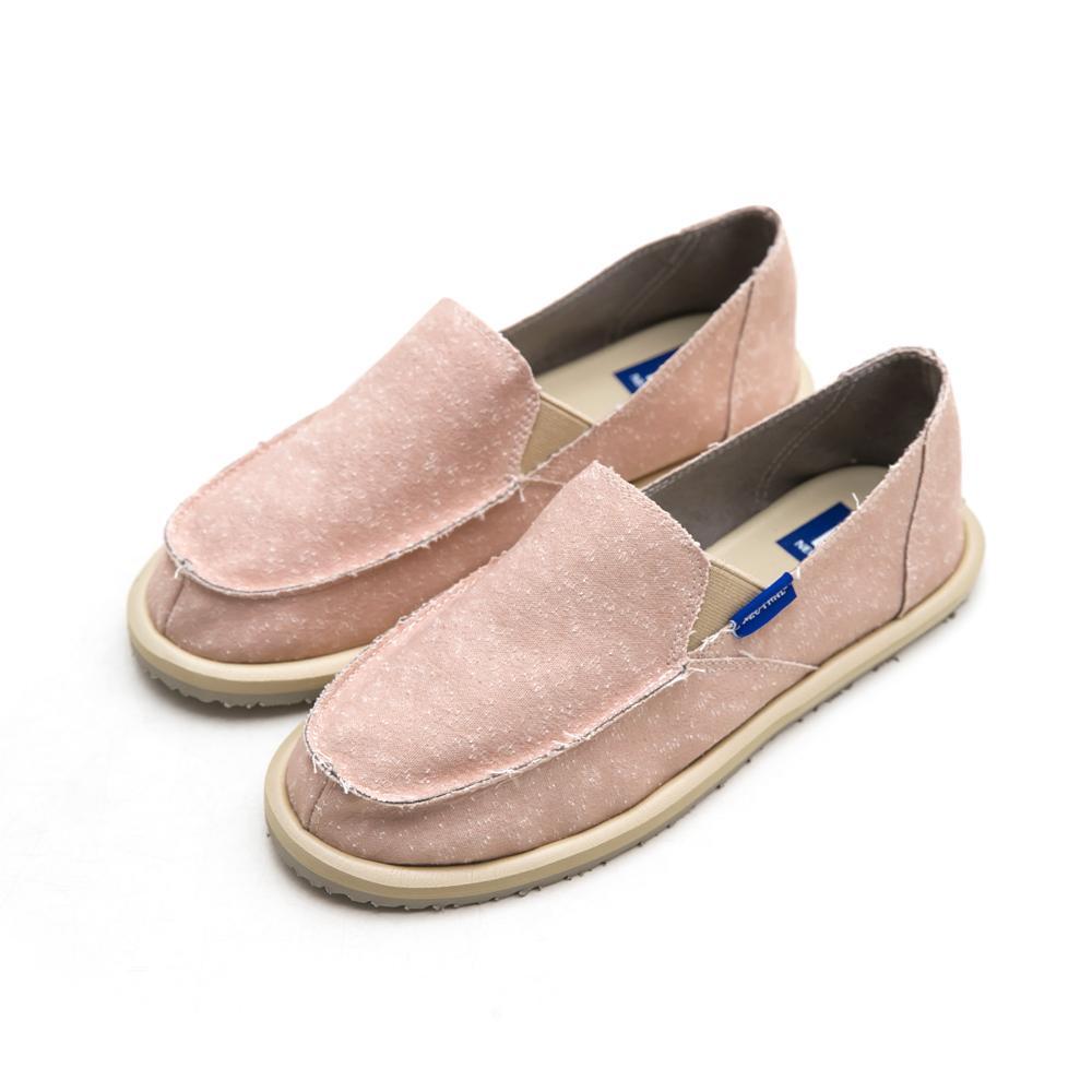 NeuTral-刷破漂浮懶人鞋-粉,單寧,牛仔,便鞋,休閒鞋,包鞋