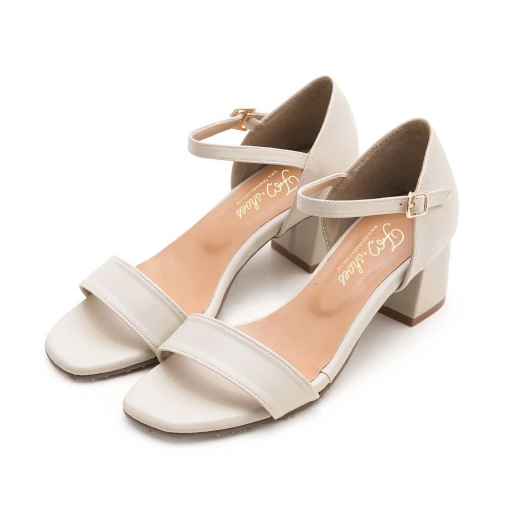 訂製款-一字帶後包高跟涼鞋,一字涼鞋,ㄧ字涼鞋,高跟鞋,粗跟,台灣製