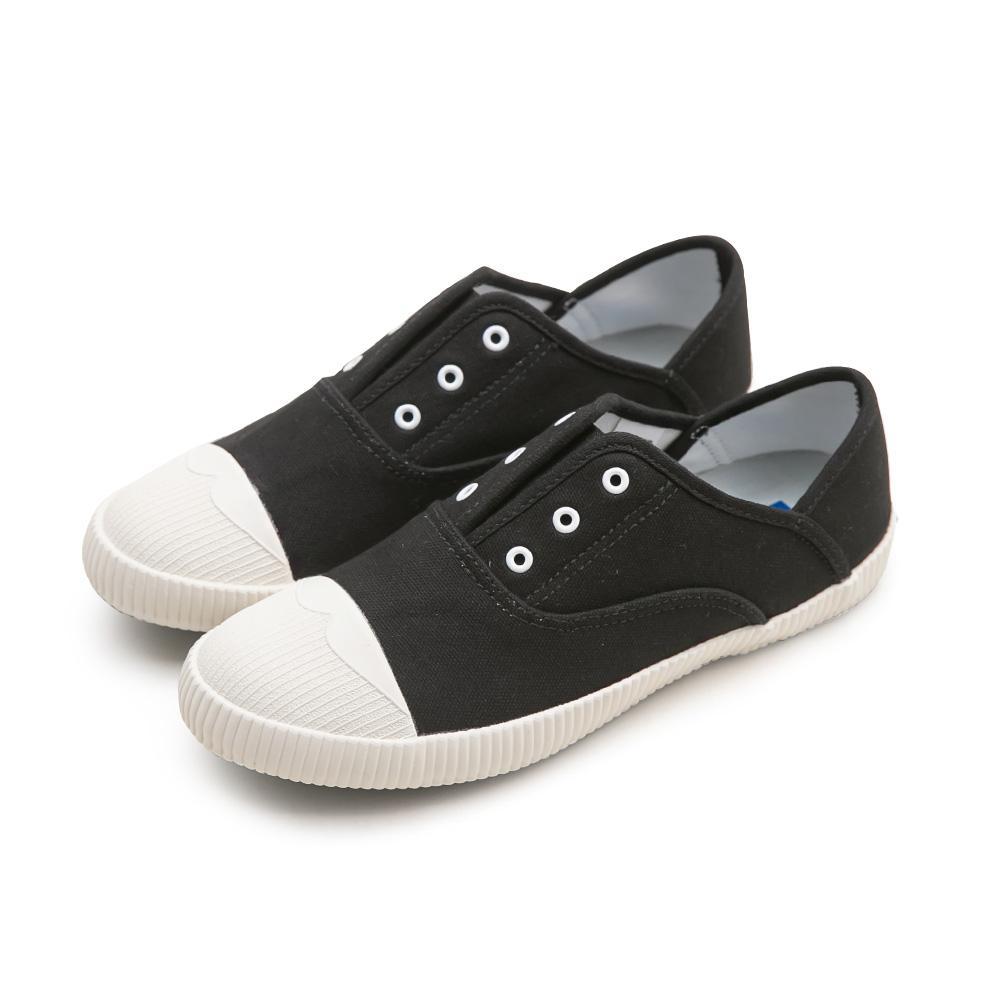 NeuTral-防潑水無鞋帶後踩懶人鞋-黑,免綁帶,包鞋,便鞋,休閒鞋,帆布鞋