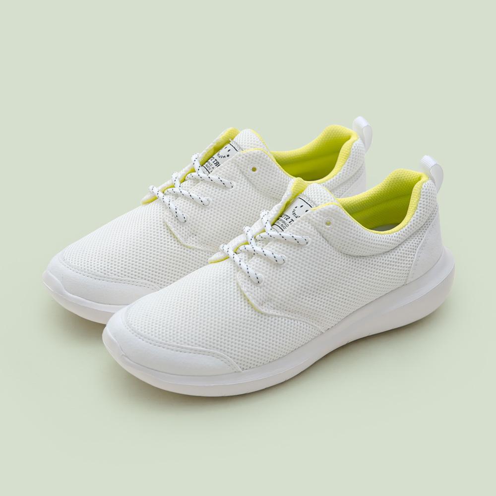 NeuTral-防潑水超輕撞色休閒鞋(白),運動鞋,休閒鞋,平底鞋,球鞋,超輕量