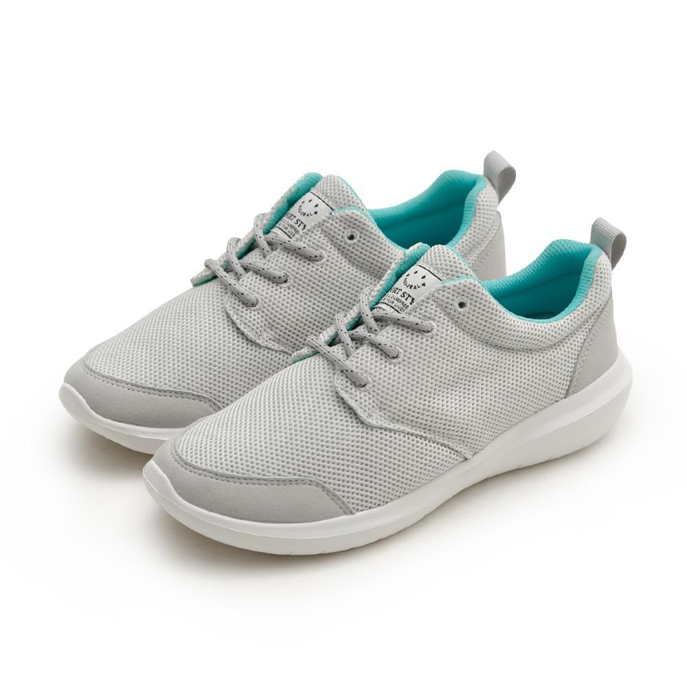 NeuTral-防潑水超輕撞色休閒鞋(灰)-男女款,運動鞋,休閒鞋,平底鞋,球鞋,超輕量