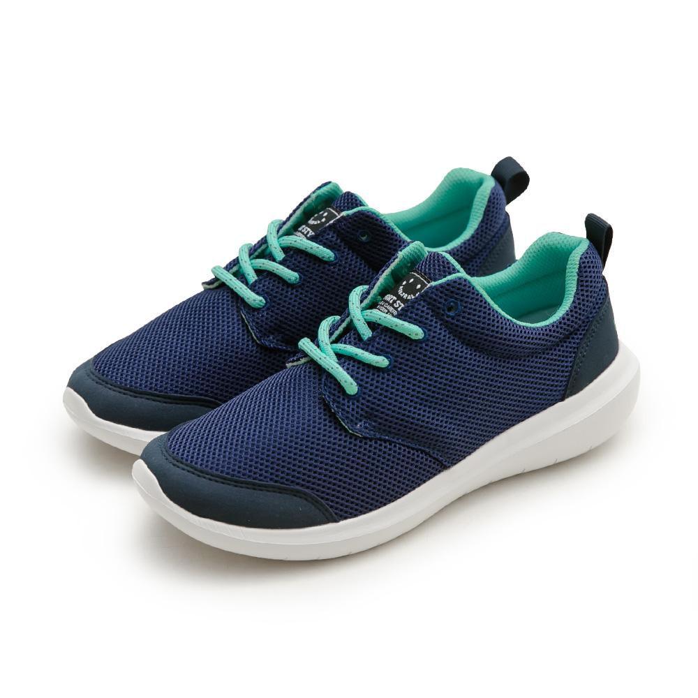 NeuTral-防潑水超輕撞色休閒鞋(深藍)-男女款,運動鞋,休閒鞋,平底鞋,球鞋,超輕量