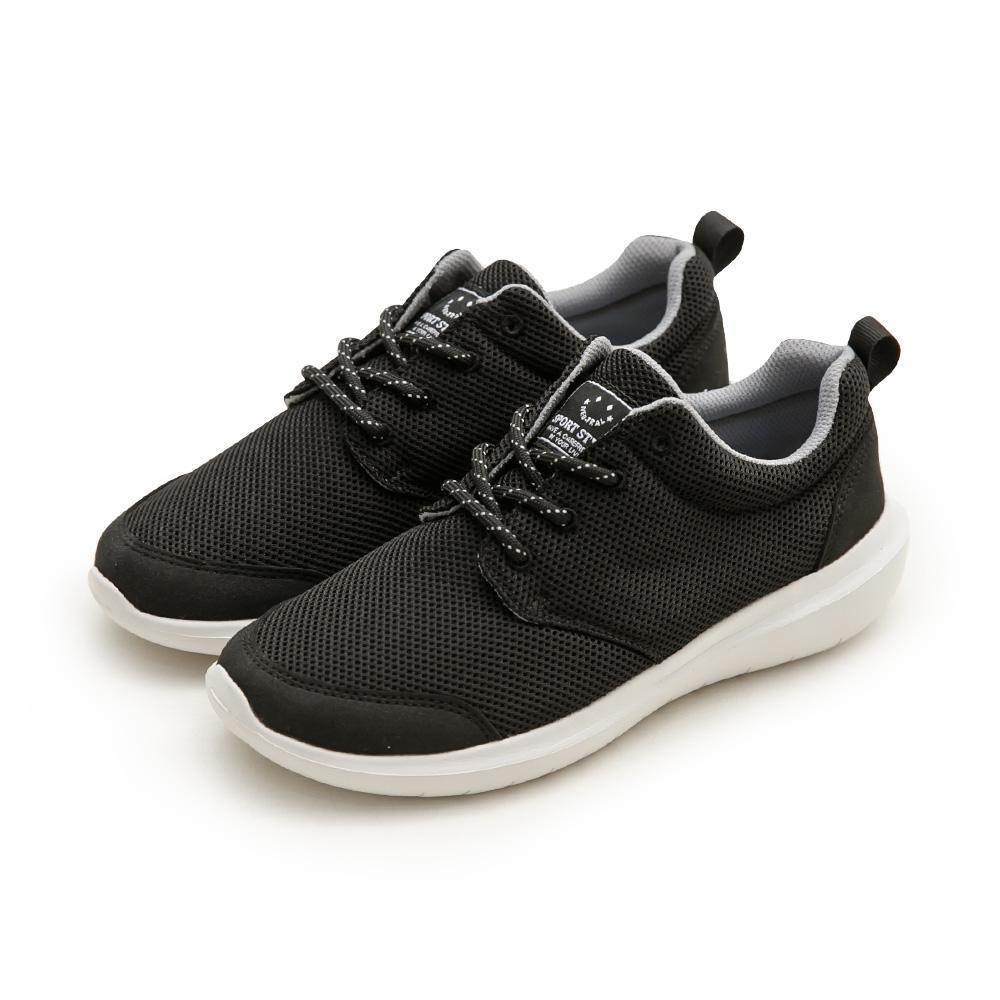 NeuTral-防潑水超輕撞色休閒鞋(黑)-男女款,運動鞋,休閒鞋,平底鞋,球鞋,超輕量