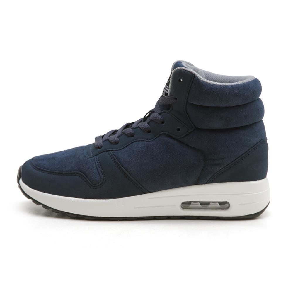 NeuTral-防潑水撞色內增高氣墊鞋(深藍)-大尺碼,靴子,包鞋,球鞋,休閒鞋,黑靴