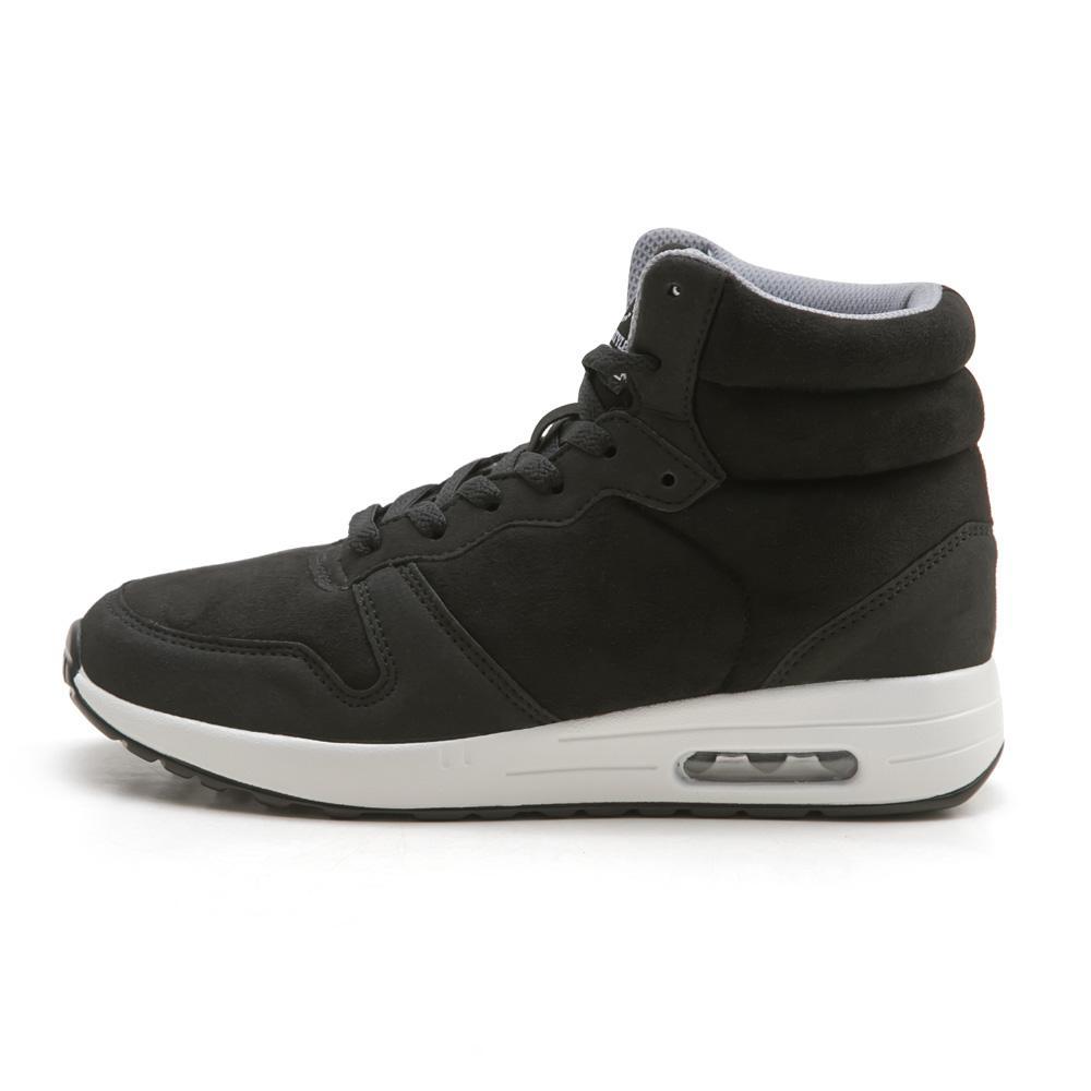 NeuTral-防潑水撞色內增高氣墊鞋(黑)-大尺碼,靴子,包鞋,球鞋,休閒鞋,黑靴