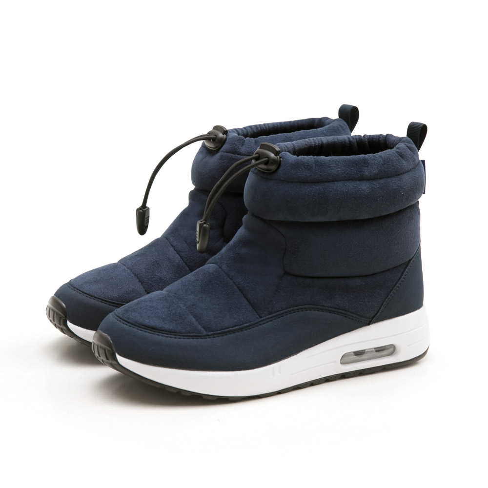 NeuTral-防潑水束口內增高氣墊靴(深藍)-大尺碼,,,L190917-2_00007600,NeuTral-防潑水束口內增高氣墊靴(深藍)-大尺碼,