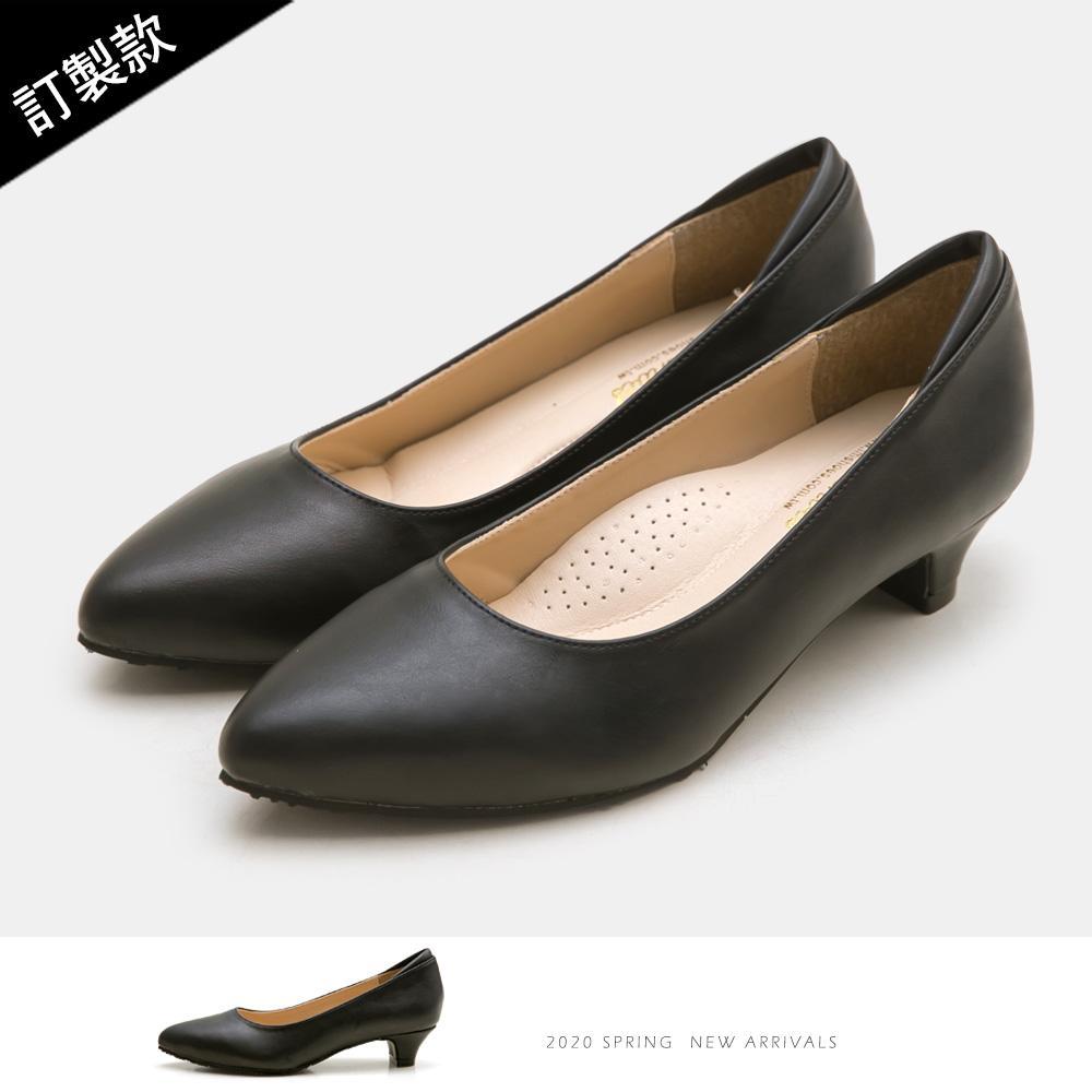訂製款-尖頭小錐跟鞋-大尺碼