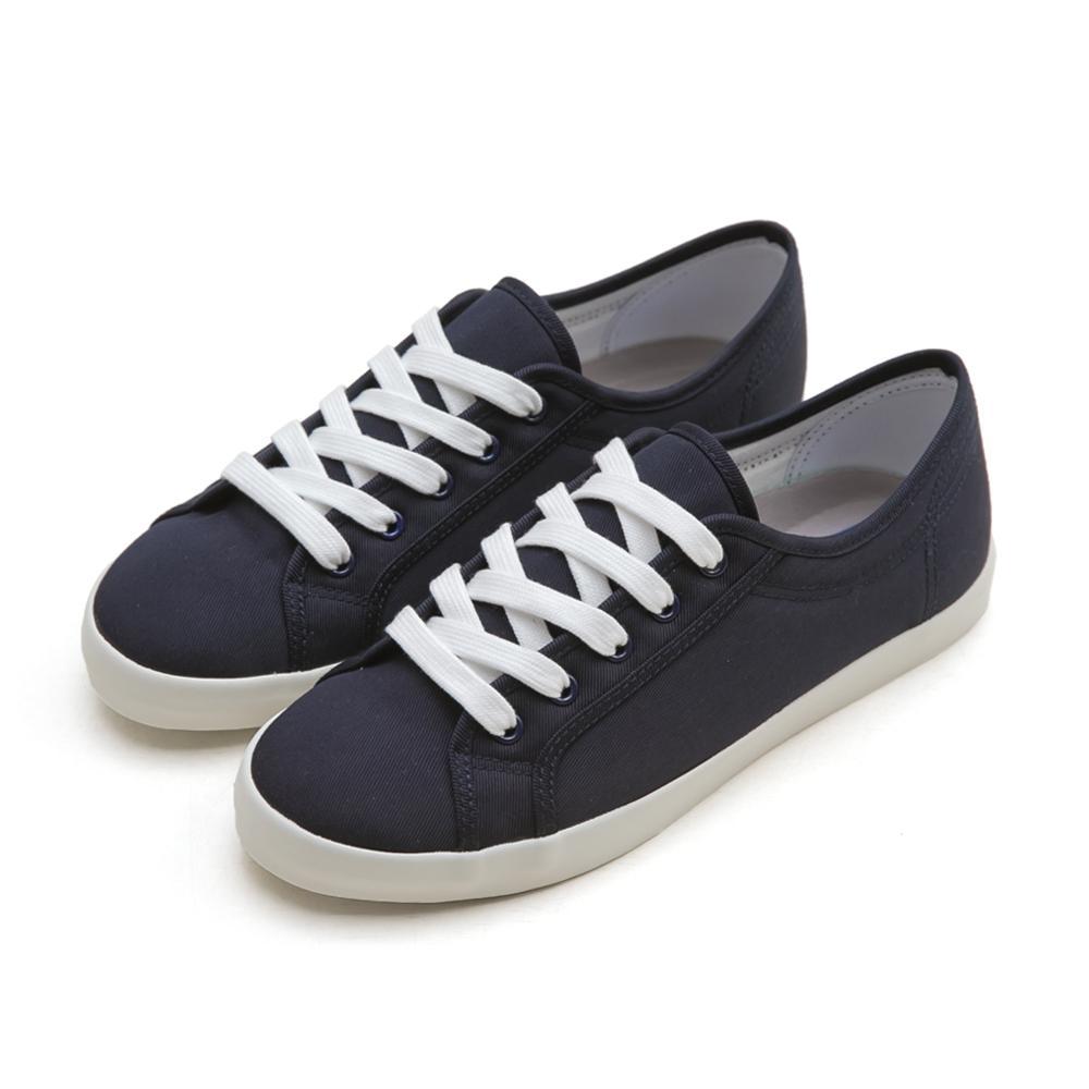 NeuTral-防潑水棉質小白鞋(深藍)-大尺碼,,,TCC030-3_00007700,NeuTral-防潑水棉質小白鞋(深藍)-大尺碼,NeuTral-guardsagainstsplasheswaterthecottonmaterialsmallwhiteclothshoes-Blue