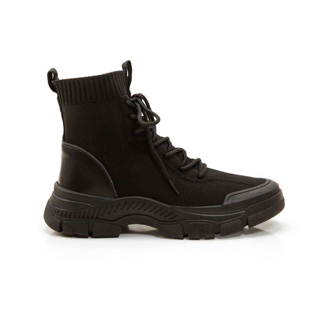 韓-針織襪套休閒短靴,,,301_20007923,韓-針織襪套休閒短靴,Korea-knittingsocksetofleisureshortboots