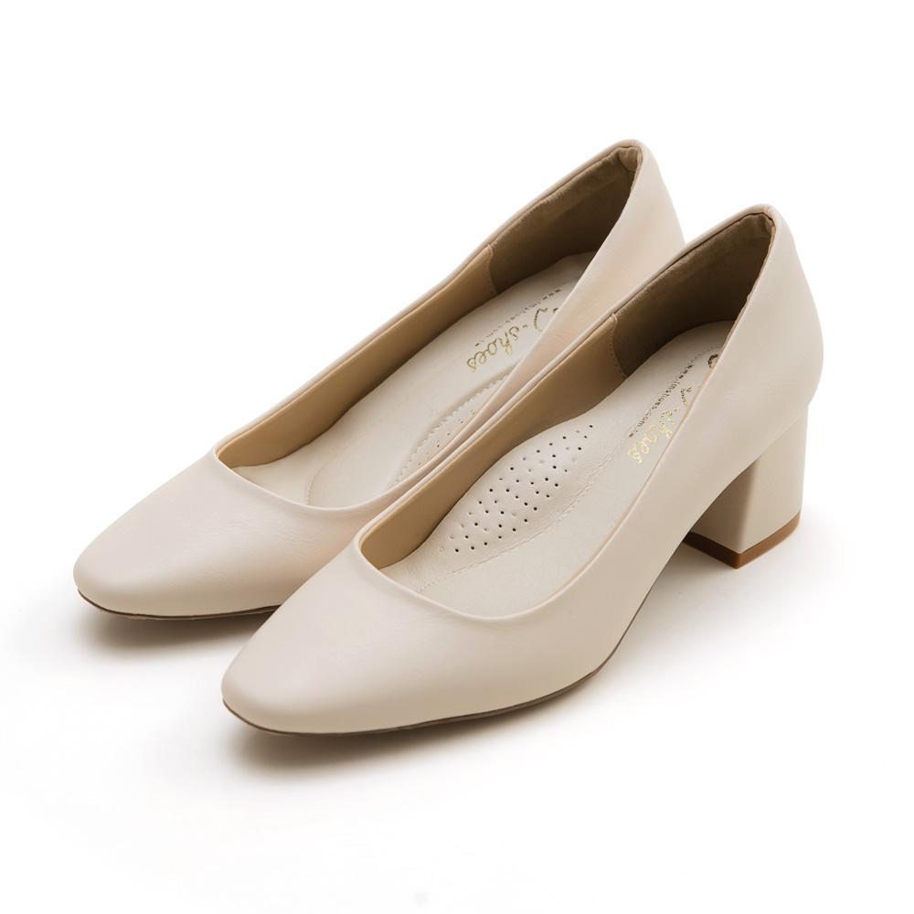 訂製款-防潑水小方頭高跟鞋(杏)-大尺碼,,,1006-A_20008064,訂製款-防潑水小方頭高跟鞋(杏)-大尺碼,Customized-WaterRepellentSmallSquareToeHighHeels(Apricot)-LargeSize