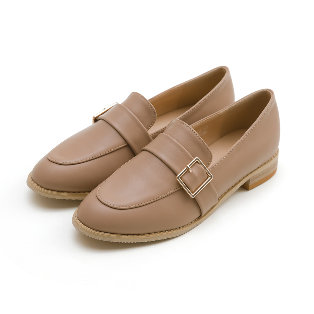 韓-側扣環木跟紳士鞋(棕)-大尺碼,,,11208-4-C_20008112,韓-側扣環木跟紳士鞋(棕)-大尺碼,Korea-SideBuckleWoodHeelGentlemanShoes(Brown)-LargeSize