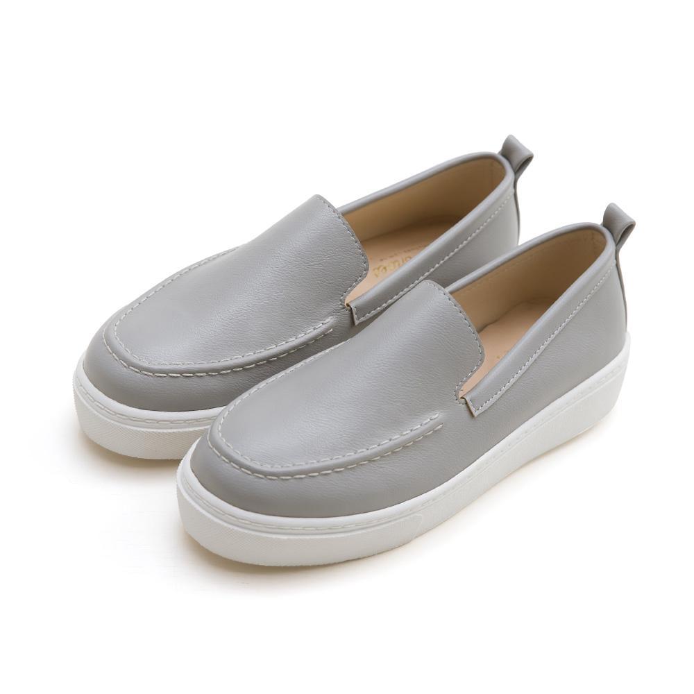 訂製款-防潑水軟革厚底小白鞋-灰,,,592-B_20008138,訂製款-防潑水軟革厚底小白鞋-灰,Customized-water-repellentsoftleatherplatformwhiteshoes-Gray