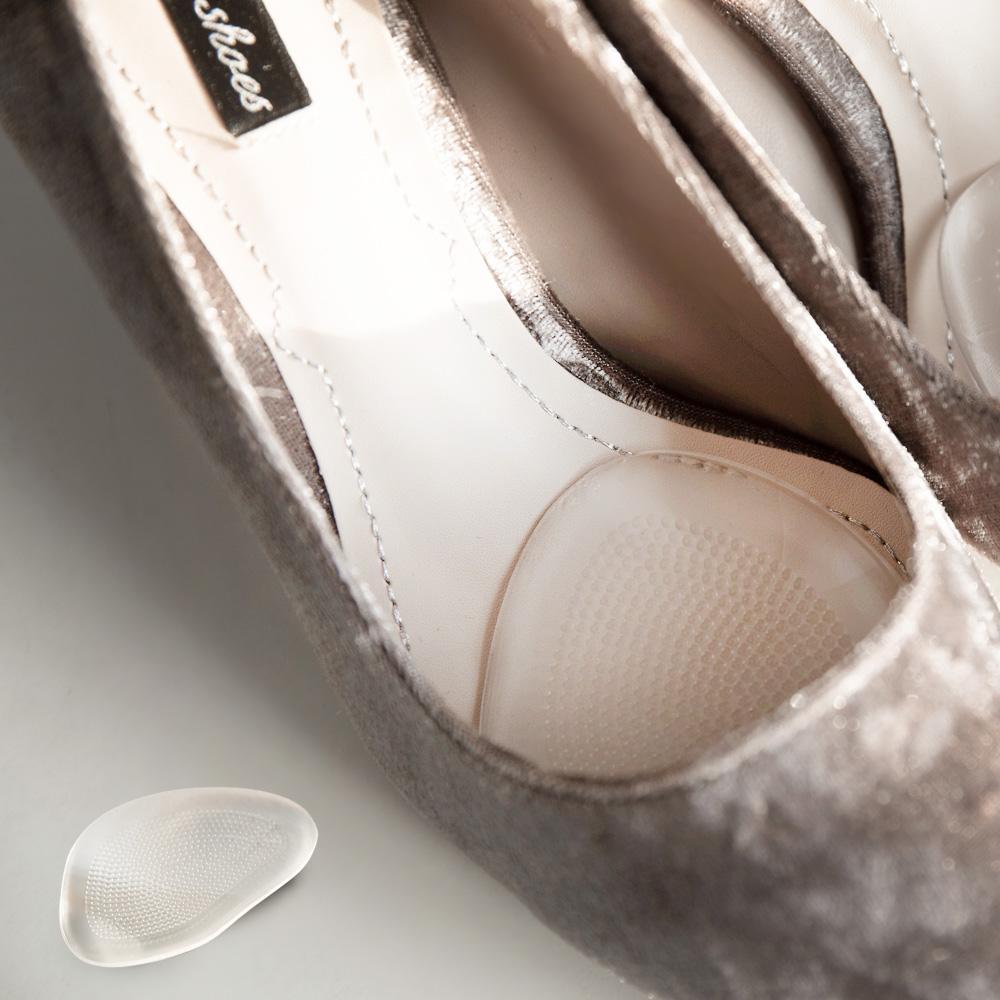 止滑透明舒壓果凍半墊-一雙,鞋墊,前掌墊,前掌貼,矽膠,